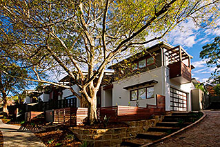 Sustainable townhomes - Lane Cove